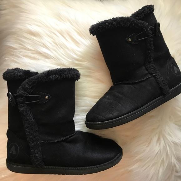 33e18ded8d8e Airwalk Shoes | Kids Black Boots | Poshmark